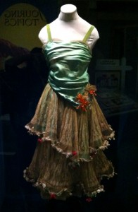 One of La Estrellita's theatrical costumes, featured in OMCA's Gallery of California History.  Collection of the Oakland Museum of California, Gift of Estrellita Jones. Photo by Diana Gadaldi.